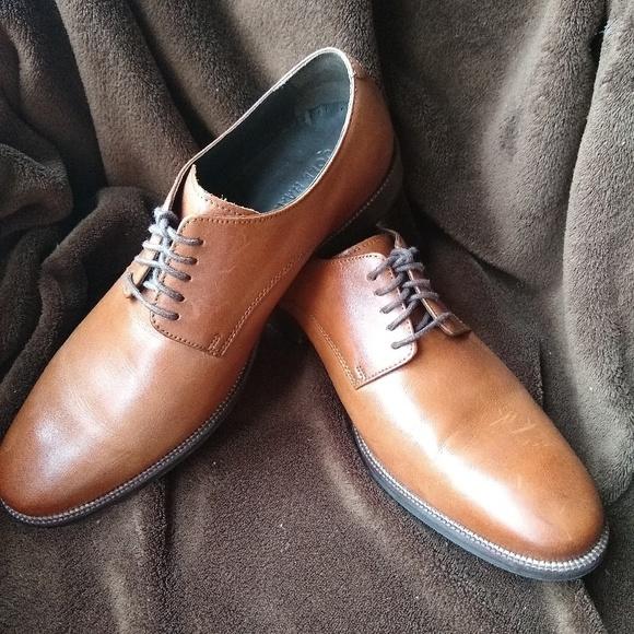 Cole Haan Benton Plain Leather Derby Ii